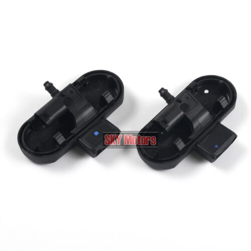 Windshield Wiper Washer Spray Nozzles Heating L/&R Pair For AUDI A4 B8 Avant A5