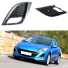 For Mazda 3 2010-2011Auto Front Bumper Driving Fog Light Cover Lamp Frame Trim
