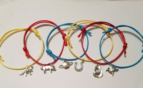 6 x Toy Story 4 Themed Birthday Party Kids Friendship Bracelet Favour Lootbags