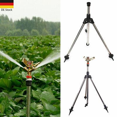Rasensprenger Stativ Impulsregner Kreisregner Teleskop Garten Sprenger Sprinkler