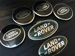 Oem Land Rover Defender Black, Green Centre Caps Grill Boot Badge Kit-afficher Le Titre D'origine Rxtemz2u-07233642-898706530
