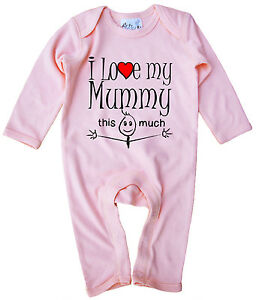Me And My Daddy Agree That Mummy Is The Best Babygrow Mother/'s Father/'s Day