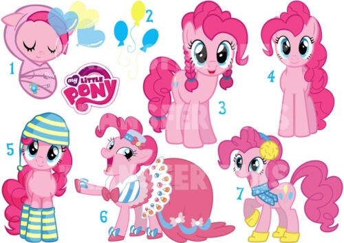 Sticker//decal or textile transfer my little pony pinkie pie