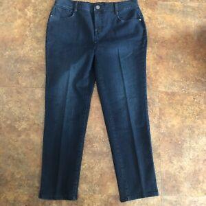 Style-amp-Co-Jeans-Size-12P-Slim-Leg-Blue-12-Petite-Denim