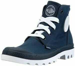 NEW-in-BOX-by-PALLADIUM-Unisex-Blanc-HI-INDIGO-WHITE-Lace-up-Boots