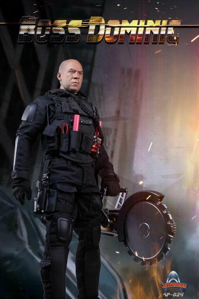 Figuras de arte 1 6 AF-024 Rápido Furioso jefe Dominic Vin Diesel Figura De Acción
