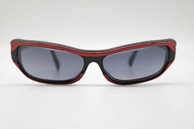 Acceni 4005 57 [] 19 Rosso Nero Ovale Occhiali Da Sole Sunglasses Nuovo-mostra Il Titolo Originale