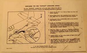 Cox-Co-Pilot-Launching-Device-Instructions-Photocopy-for-Gas-Powered-Plane
