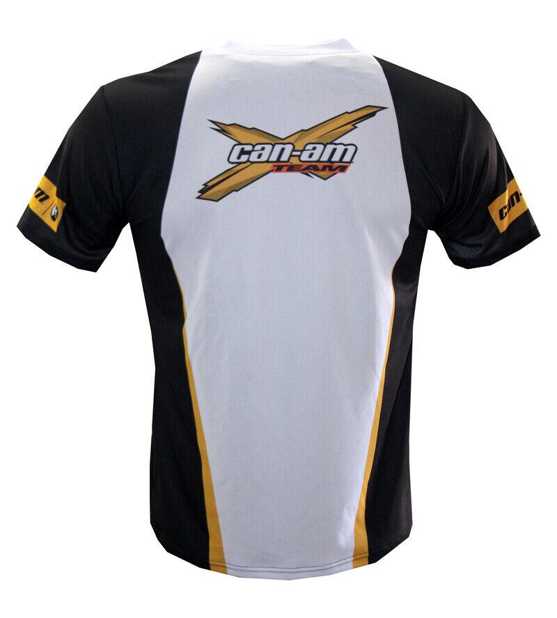 Can-Am T-shirt Maglietta Camiseta ATV 4X4 Outlander Spyder Maverick Renegade 3