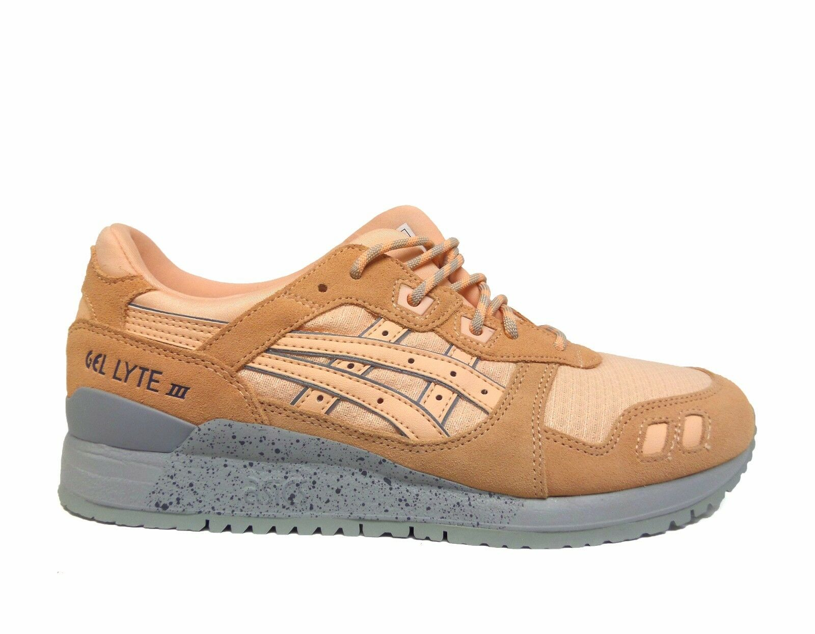 ASICS hommes GEL LYTE III Chaussures Bleached Apricot H7L4L-1717 b