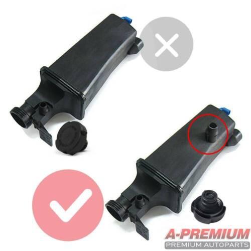 Radiator Coolant Overflow Expansion Tank Bottle Reservoir w//Sensor w//Cap for BMW