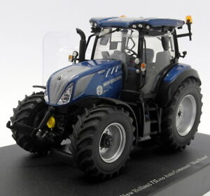 Universal-HOBBIES-MODELLINO-IN-SCALA-1-32-UH6207-TRATTORE-NEW-HOLLAND-T5-140-BLU-POWER