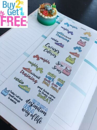 Training :Planner Stickers Erin Condren S425- Fitness Running Shoes Sport