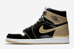 Nike Air Jordan 1 Retro High OG NRG SZ 10 Gold Top 3 Complex Con TZ 861428-001
