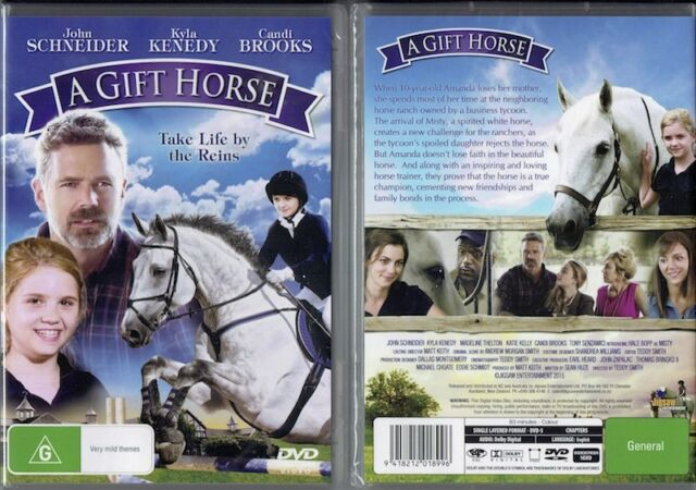 A Gift Horse * NEW DVD * John Schneider Kyla Kenedy Candi Brooks family movie