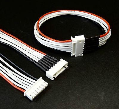 5x 6S Balancer Kabel Verlängerung Ladekabel JST-XH 20cm 200mm Lipo Akku 22,2V RC