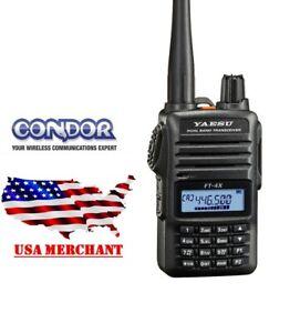 Yaesu-FT-4XR-VHF-UHF-5W-Dual-Band-FM-Handheld-Transceiver