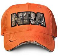 Nra Official Hi Viz Orange Hat Cap