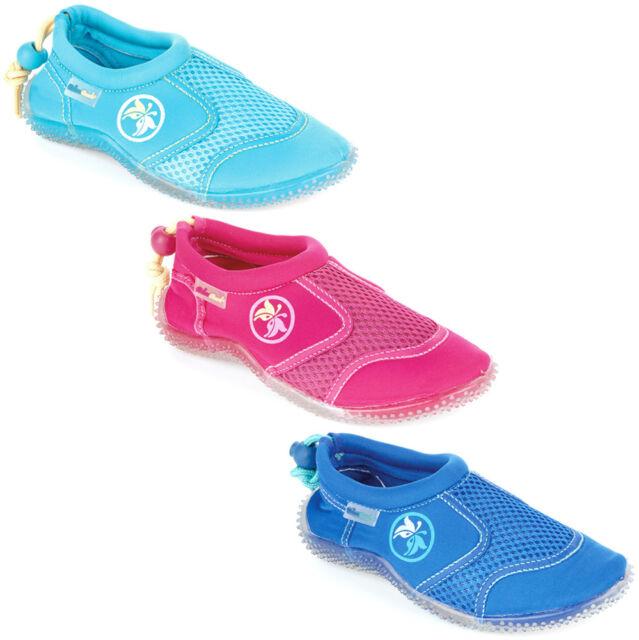 BOYS GIRLS AQUA BEACH WET WATER SOCKS SHOES SWIMMING BEACH POOL INFANTS UK 5-12