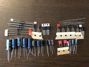 Pioneer-SX-737-Power-Supply-amp-Protection-Recap-Kit-Capacitor-Upgrade-Rebuild-Set