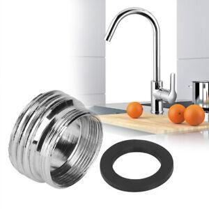 Details about 1Pc Kitchen Faucet Diverter Valve Adapter Bathroom Sink To  Garden Hose Adapter