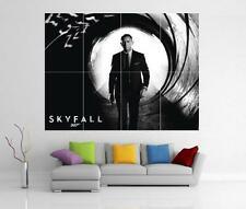 JAMES BOND 007 SKYFALL DANIEL CRAIG GIANT WALL ART PRINT POSTER H79