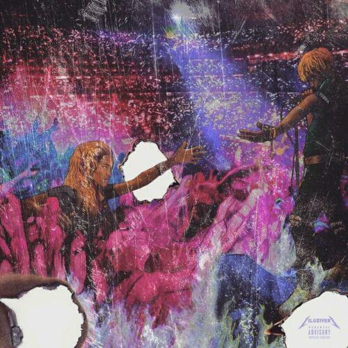 """Lil Uzi Vert Luv Is Rage Album Hip Hop Rap Music Cover Poster 24/""""×24/""""//60×60cm"""