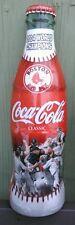 1 Full  ~  2004 Boston Red Sox Champions ~ Coke BOTTLE ~ 8oz (id: b)