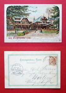 Litho-AK-ZUCKMANTEL-in-Schlesien-1899-Sanatorium-35877