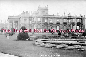 WO-192-Witley-Court-Side-View-Worcestershire-6x4-Photo