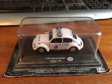 DeAgostini scala 1/43 VW ESCARABAJO (Beetle) Mexico Auto della polizia (1979) - SIGILLATO