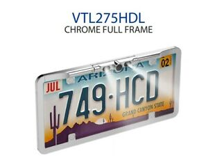 Boyo Vtl275hdl Chrome License Plate Backup Camera Night