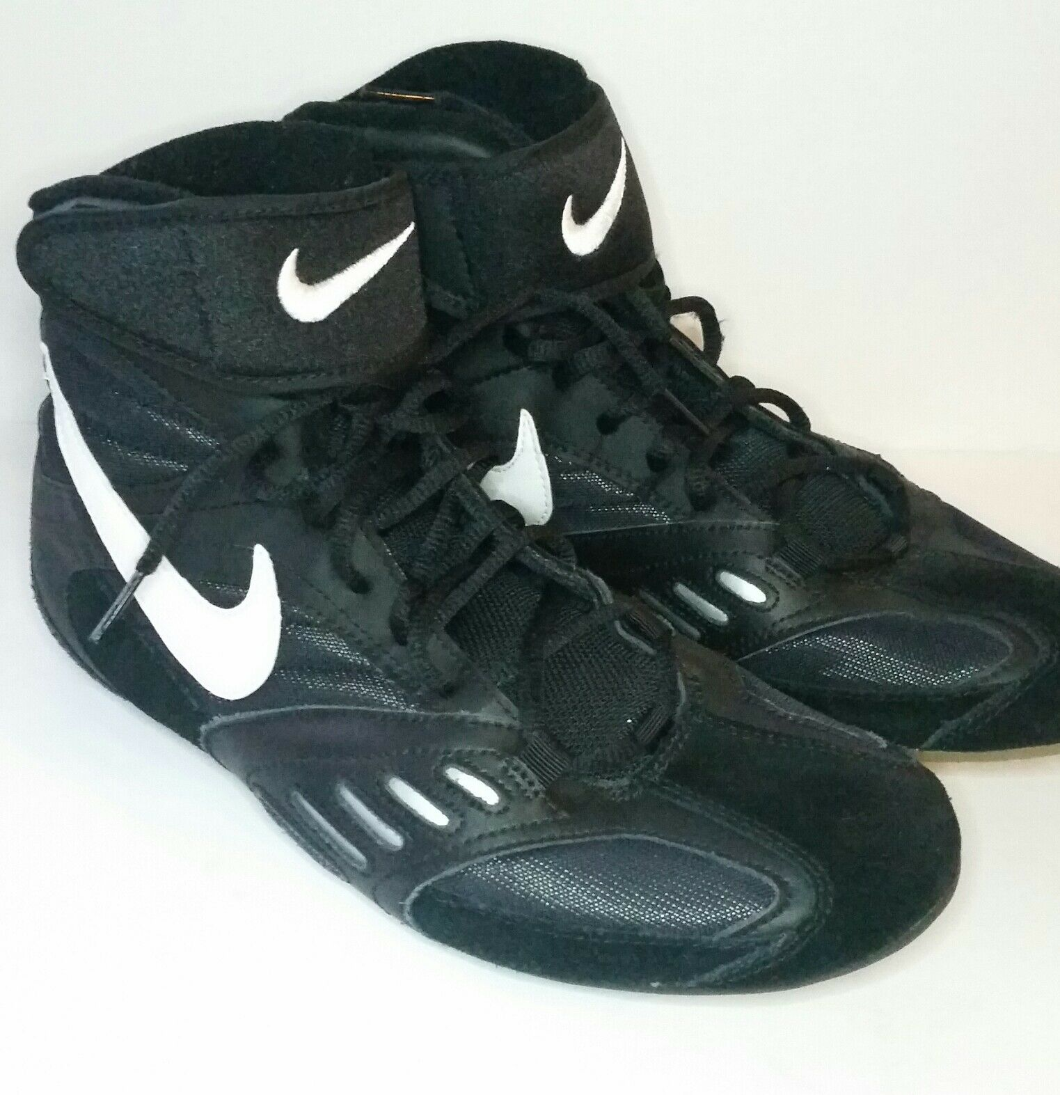 74064181e48 Nike Speedsweep V 5 Mens Boots 10 Black Wrestling Shoes Boots Mens Inflict  Takedown EUC 402f0c