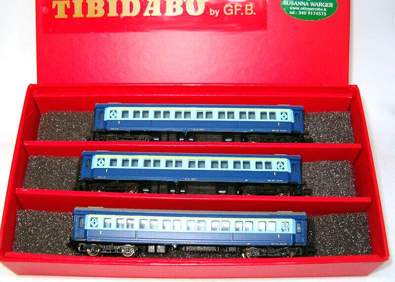 Tibidabo pista n set a los turismos tipo 1921 FS treno azzurro rareza nuevo embalaje original
