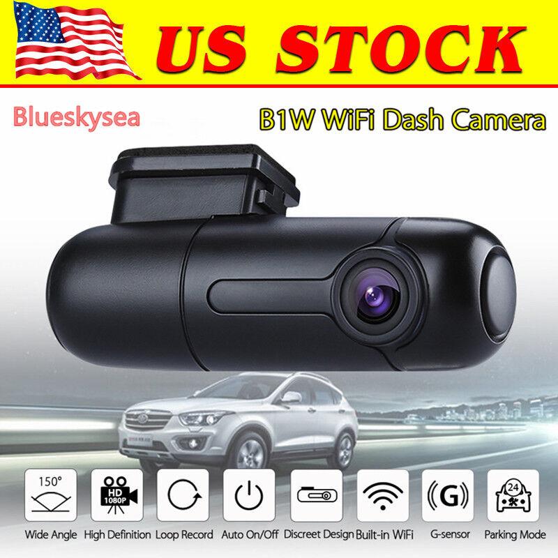 blueskysea b1w mini wifi hd dash camera car dvr dash cam vehicle parking mode 889251289811 ebay. Black Bedroom Furniture Sets. Home Design Ideas