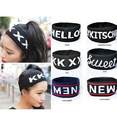 Fashion Cute Harajuku Headband Running Yoga Dance Sports Cotton Spandex L Size