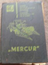Claas Mähdrescher Mercur Ersatzteilliste