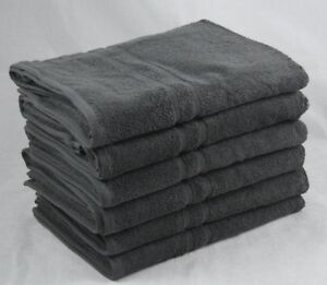 fe1b677a928 Image is loading Dark-Grey-Bath-Towels-Egyptian-Cotton-450-gsm-