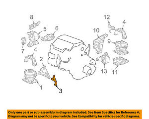 image is loading honda-oem-pilot-engine-motor-transmission-front-mount-