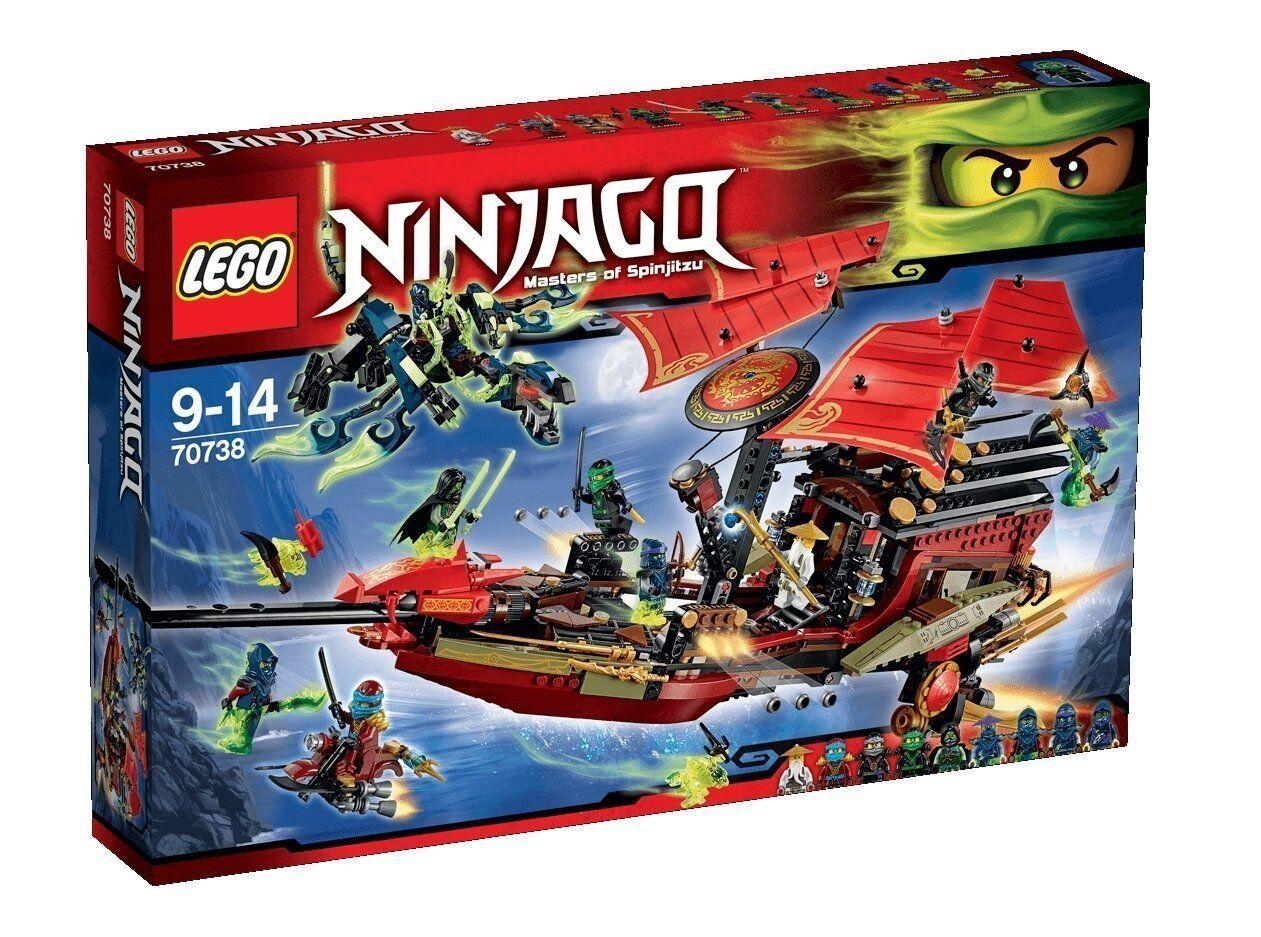 LEGO ® Ninjago ™ 70738 le dernier vol du Ninja-flugseglers Ninja-flugseglers Ninja-flugseglers NEUF NEW OVP MISB 01c898