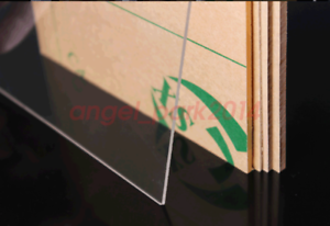 Acrylic PANELS Thick:1mm Clear Sheet Perspex//Altuglas Cut to Size A3 420mmx297mm