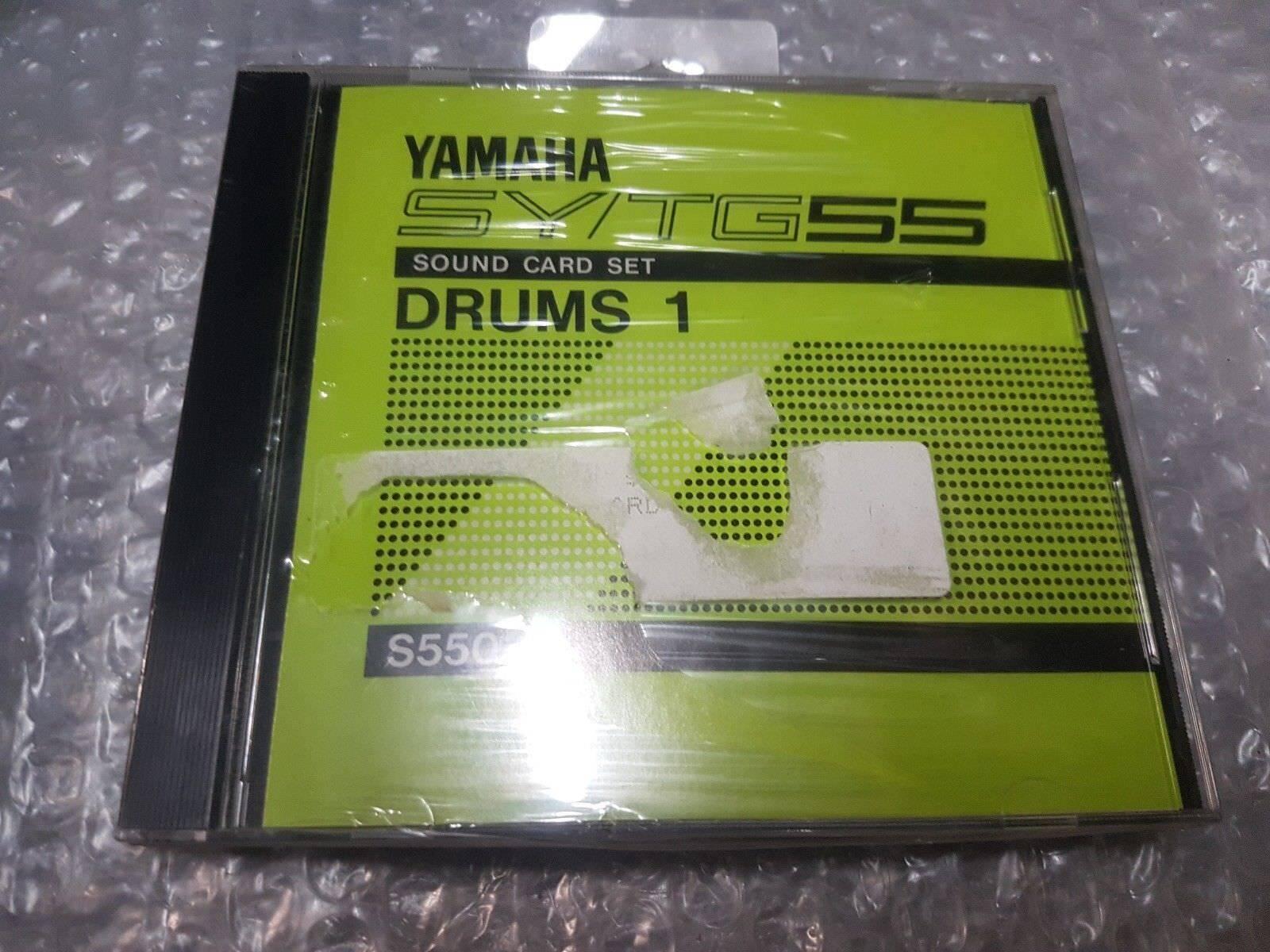 Yamaha Yamaha Yamaha sy tg 55 card set-drums 1-New Old Stock 67e078