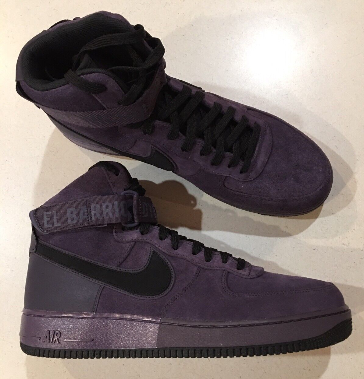 Nike Air Force 1 High '07 Harlem Uptown QS shoes -Size 11 -573967 500 New