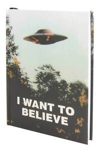 Details about X-FILES tv series I WANT TO BELIEVE Fox Mulder Hardcover  JOURNAL NEW!
