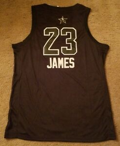 380414d93 Image is loading New-Stitched-Lebron-James-23-Cleveland-Cavaliers-All-