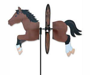 Image Is Loading Premier Designs Yard Garden Spinner Bay Horse Petite