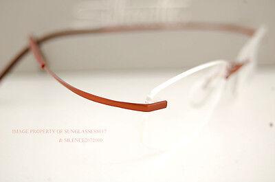 New Silhouette Eyeglass Frames TMA ICON 4248 6052 COPPER 7581 for Men Women