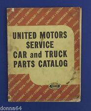 United Motors Service Car Truck Parts Catalog 1955 A-9000 American Made Vehicles