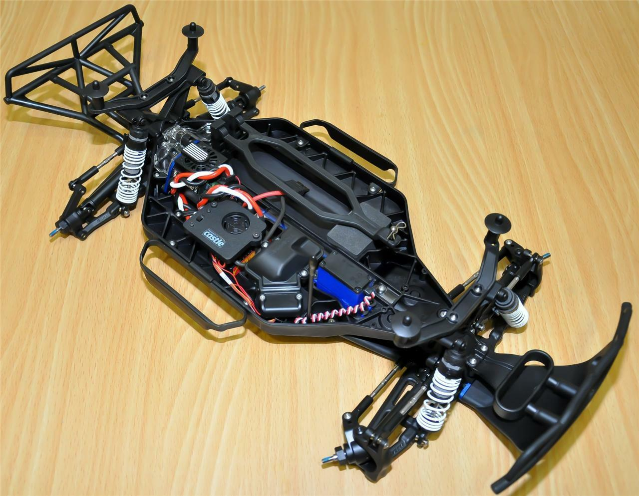 Traxxas Slash Slash Slash 4x4 TRA 6808 Roller with RPM and Castle Sidewinder SCT Combo 24086e