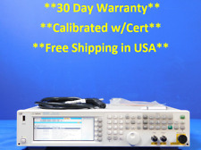 Agilent Hp Keysight N5182a 100 Khz To 3 Ghz Signal Generator Loaded With Options